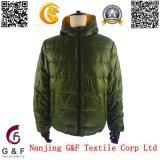 2015 del estilo de moda, nuevo diseño, chaqueta reversible, por la chaqueta de invierno en los hombres de la chaqueta y escudo