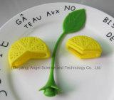 Großhandelssilikon-Grobfilter-Tee Infuser Zitrone-Form-Silikon-Teebeutel St05