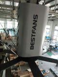 Los 4.8m cómodos silenciosos confiables seguros (el 16FT) 1.1kw que cultivan el ventilador industrial de las aplicaciones