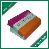 Farbenreicher NahrungsmittelpappeDunut Verpackungs-Großhandelskasten