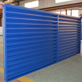 Ventana de aluminio azul K09009 del obturador del perfil
