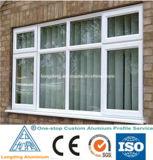 Китай анодировали и профили покрытия порошка алюминиевые для сползая Windows