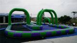 Saleのための2016普及したCrazy Inflatable Race Car Track