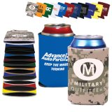 Foldable와 Promotional Printed Can Sleeve Cooler (PM116)