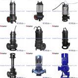 Wq, das versenkbare Schlamm-Abwasser-Pumpe Nicht-Verstopft