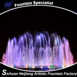屋外の噴水をつける経済的な円の正方形のショッピングモール音楽ダンスの噴水LED