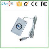 Leitor quente Sdk livre do USB 13.56MHz NFC do Sell RFID para o sistema do controle de acesso do cartão