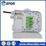 Coffret d'extrémité du cadre 1*8 de Disturition de fibre optique de réseau avec le diviseur