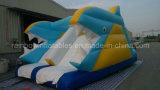 Diapositiva inflable animal para el cabrito