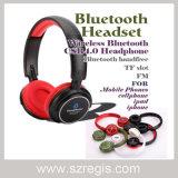 Sustentação sem fio TF FM do auscultadores do fone de ouvido dos acessórios dos telefones móveis de Bluetooth