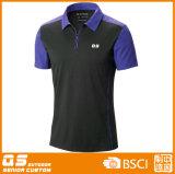 T-shirt de polo du sport des hommes