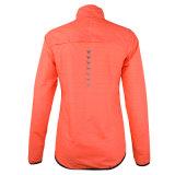 Desgaste reflexivo del deporte de las mujeres de la tela de la chaqueta corriente para la venta al por mayor