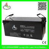 bateria acidificada ao chumbo do AGM VRLA da longa vida recarregável de 12V 200ah Mf