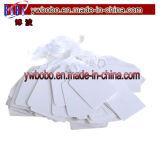 Il biglietto di prezzi del contrassegno dell'indumento etichetta la modifica di nome dell'autoadesivo del regalo dei vestiti (G8048)