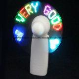 Promozionale Mini lampeggiante Fan LED con logo stampato (3509)