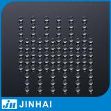 (d) 2mm de Transparante Bal van het Glas van de Hoge Precisie voor Spuitbus