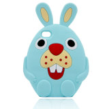 iPhone (XSDW-031)のためのウサギのシリコーンの漫画の携帯電話の箱