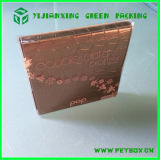 Rectángulo de empaquetado de la impresión cosmética plástica para el producto de cuidado de piel