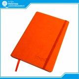 Impressão de couro do caderno do calendário do plutônio