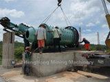 Molino de bola de pulido ahorro de energía para la planta de tratamiento mineral