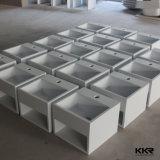 Les plus populaires Blanc Matt Solid Surface Salle de bains Lavabos