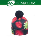 Beanie di /Free POM del Beanie della stampa di /Cutom del cappello del Beanie di sublimazione