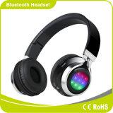 Van de Stereo Comfortabele LEIDENE van Smartphone de Vouwbare Hoofdtelefoon Bluetooth Flits van de Verlichting