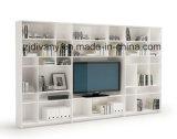 Divany armário de madeira de madeira maciça branca moderna (SM-TV06B)