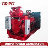 電気土地利用の電源エンジンの開いたディーゼル発電機セット