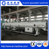 Linha plástica eficiente elevada da extrusão da tubulação do PVC