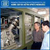 Compressor da corrediça do gás do argônio de Nitroge do oxigênio