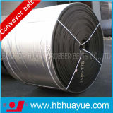Largura de borracha 400-2200mm da força 160-800n/mm do centímetro cúbico da correia transportadora do algodão Assured da qualidade