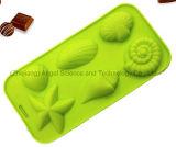 Moulage Si10 de crême glacée de moulage de sucrerie de chocolat de silicones d'étoiles de mer