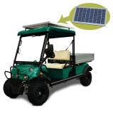 Carro del cargo del vehículo eléctrico del panel solar