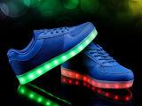 Zapatos especiales de la iluminación LED con la carga del USB del LED (la Florida 01)