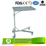 Trole médico /Cart do instrumento do aço inoxidável 3-Layers do hospital da alta qualidade Skh004