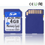 4GB en gros, 8GB, carte SD de 16GB PC/Camera (garantie de classe 6) 1 an