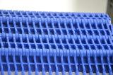 correia transportadora modular plástica calçada de placa 900series lisa com defletores