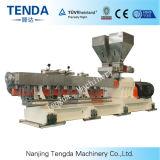 Machine de boudineuse à vis de jumeau de parallèle de plastique de Tsh-75 Masterbatch