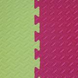 고품질 다채로운 Kamiqi EVA 거품 지면 매트--잎 짜임새