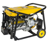 China Power 168f-1 Engine 2.5kw Gasoline Generator Plg Gas Electric Começo com Battery Copper Wire