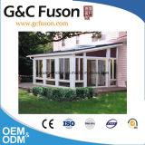Moderner Entwurfs-starker Aluminiumrahmen-ausgeglichenes GlasSunroom