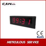 """[Ganxin] 1 """" mini sveglia elettrica della Tabella di colore rosso LED Digital"""