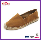 Brown Leather Casual Shoes Hard Soles