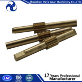 Shenzhen Factory Forgeage Precision en acier inoxydable Splines Shaft