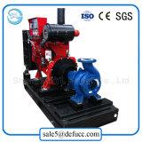 Pompe centrifuge d'aspiration d'irrigation entraînée par moteur diesel de ferme
