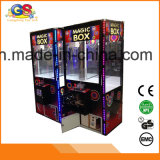 Máquina de juego de fichas del regalo de la arcada de la venta del empujador del rectángulo mágico