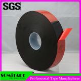 Cinta de revestimiento doble modificada para requisitos particulares Sh333b05 de la espuma negra de Somitape para los fines generales