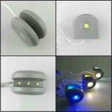 Luz laminada luz de cristal del estante del LED