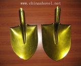 Немецкий тип стальная золотистая лопата S507-2/S507-3 лопаткоулавливателя цвета